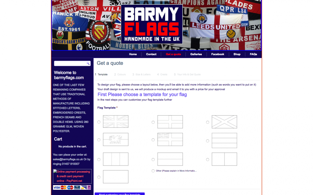 Barmy Flags