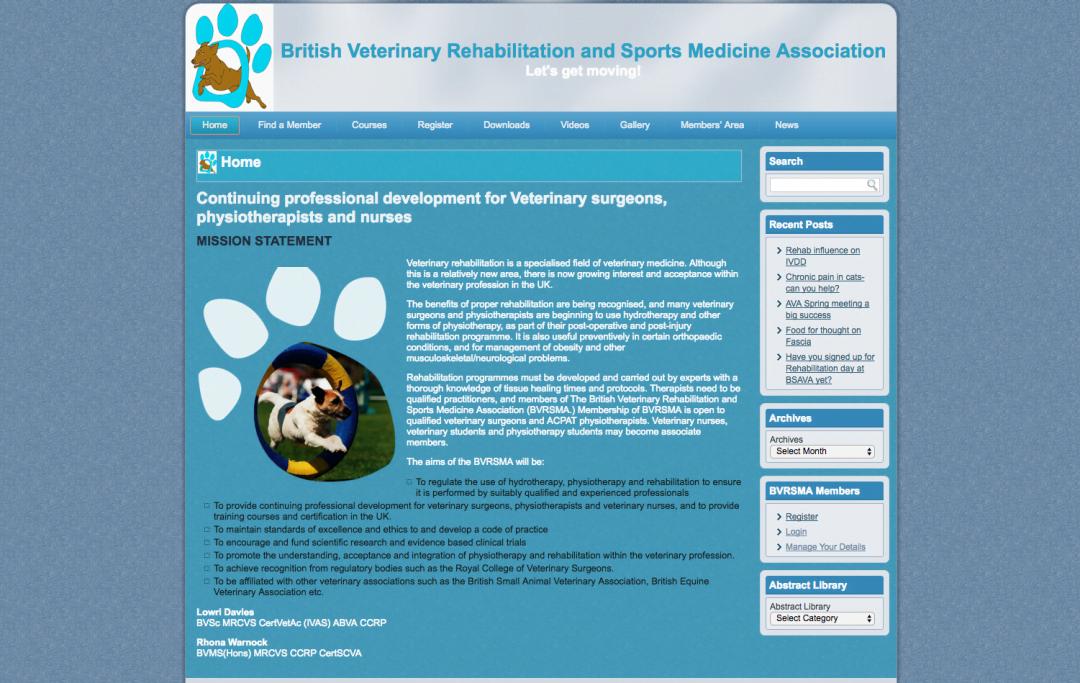 British Veterinary Rehabilitation and Sports Medicine Association
