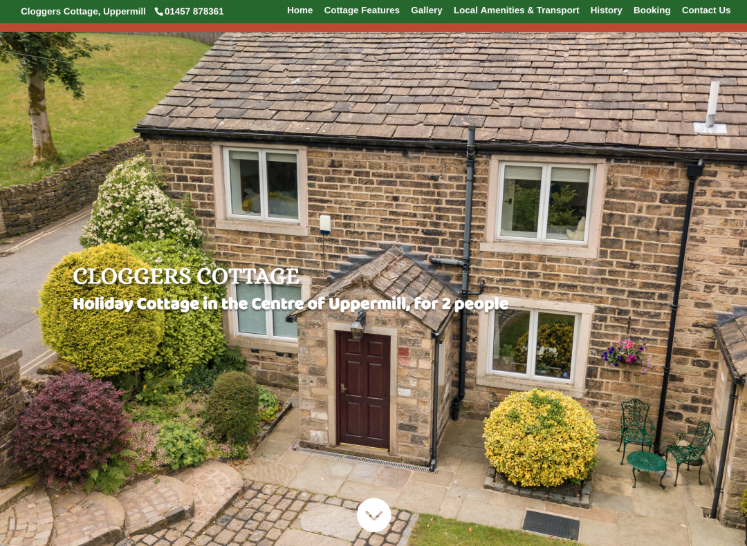 Cloggers Cottage, Uppermill